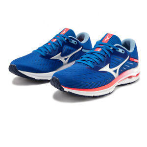 Mizuno Womens Wave Rider 24 Running Shoes Trainers Sneakers Blue