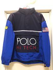 21f987065eb9 XXL Polo Ralph Lauren Hi Tech Front ZIPPER Pocket Pullover Windbreaker  Jacket