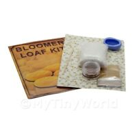 Dolls House Miniature Bloomer Loaf Kit With Silicone Mould