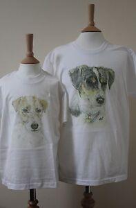 Jack Russell Terrier T-Shirts & Sweatshirts 5 Designs All Original Drawn Designs