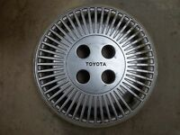 """1989 89 1990 90 Toyota Tercel Hubcap Rim Wheel Cover Hub Cap 13"""" OEM USED"""