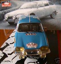 CITROEN GS RALLYE MONTE CARLO 1975 IXO 1/43 BLEU BLUE