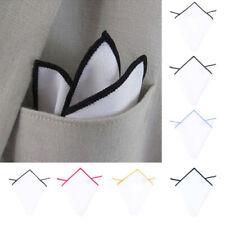 Men Pocket Square Handkerchief Cotton Soft Handkerchief Wedding Party Formal