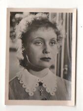 Julia Fjorsen 1951 Greiling Film Star Series E Cigarette Card #77
