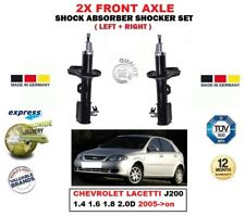 FOR CHEVROLET LACETTI J200 2005->on 2X FRONT LEFT RIGHT SHOCK ABSORBERS SET