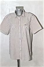bonito camisa de rayas de manga corta mujer MARLBORO CLASSICS talla XXL NUEVO