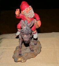 "Sandman Limited Edition Figurine Klaus Wickl 1994 Enesco #0261-9""x8"" Gnome-Nice!"