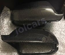 Audi A5 S5 Rs5 2009-2016 Carbon Fiber Wing Mirror Cover Caps Replacement OEM-fit