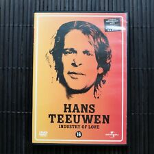 HANS TEEUWEN - INDUSTRY OF LOVE - DVD