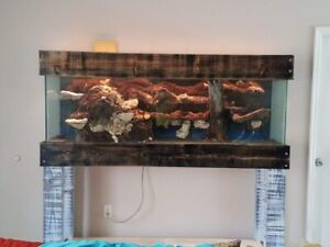 125 gallon tank with stand