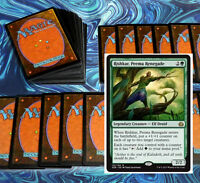 mtg MODERN GREEN +1/+1 COUNTERS DECK Magic the Gathering rare 60 cards + rishkar