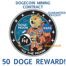 50 DOGECOIN🚀 50 DOGE coins - CRYPTO MINING-CONTRACT Crypto Currency