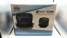 Nadex S540 Pro Coin Counter Sorter And Wrapper Sorts Up To 300 Coins