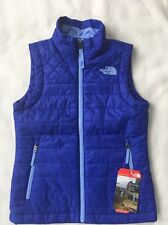 THE NORTH FACE Girl's Gig Harbor Vest Lapis Blue NWT $80 SMALL 7-8