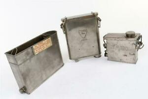 "3 x Vintage ~ Developing Tanks inc. ""Standa"", ""Foco"" & ""Amato""  #2059"