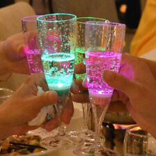 6pcs LED Wine Glasses Cocktail Cups for Christmas Drink Wedding Party Night Club