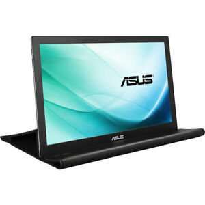 "ASUS MB169B+ 15.6"" Full HD Portable USB-Powered BLACK Monitor FHD 1920x1080, IPS"