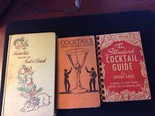 Classic Bar Book Lot Originals Free Domestic S/H