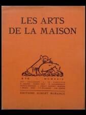 LES ARTS DE LA MAISON -ETE 1924- FRANCIS JOURDAIN, JACQUES RUHLMANN, EILEEN GRAY