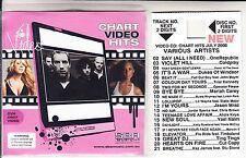 VCD VIDEO JORDIN SPARKS MAROON 5 MARIAH CAREY COLPLAY JASON MRAZ CUT COPY