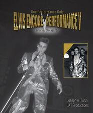 Elvis PresIey - Elvis Encore Performance Volume V hardcover Book from JAT