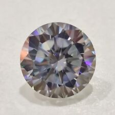 Round Cut Loose Moissanite Diamond 4 Ring Gray Color 1.15Ct 6.88 Mm Clarity Vvs1