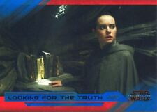 Star Wars Last Jedi S2 Blue Base Card #24 Looking for the Truth