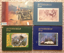 Lot of 4 Automobile Quarterly(Summer 1962, Winter 1965, Third and Forth,1979)