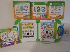 LeapFrog LeapStart Learning System with 4 Books! level 1 preschool DAILYROUTINES