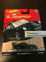 RWB Porsche 930 * 2019 Hot Wheels SILHOUETTES Car Culture Case J * T16