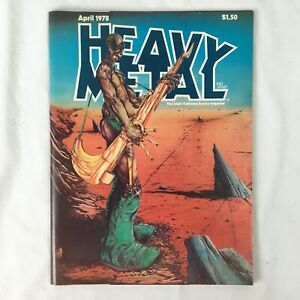 Heavy Metal Magazine April 1978 Moebius & Corben Stories