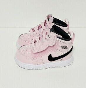 Nike Air Jordan 1 Mid ALT Pink Shoes AT4613-601 Size Baby Toddler 4C