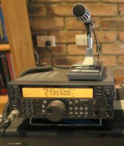 KENWOOD TS-570D HF TRANSCEIVER & KENWOOD PS-30 Power Supply & Desk Top Mic