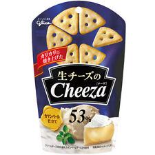 Glico Cheeza Camembert Cheese Crackers Japanese Snack 40g