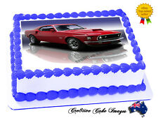 Mustang Edible Cake Topper Icing Image Birthday Party Decoration