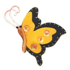 ID 2109 Felt Butterfly Patch Garden Fairy Insect Bug Embroidered IronOn Applique
