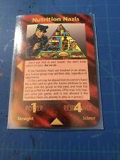Illuminati New World Order Card Game Assassins Nutrition Nazis Rare