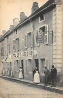 CPA 71 SAINT GENGOUX LE NATIONAL HOTEL DU LION D'OR SAONE ET LOIRE