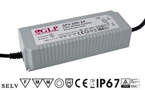 LED Trafo Netzteil IP67 wasserfest Konstantspannung 5V 12V 24V 36V 12W - 200W