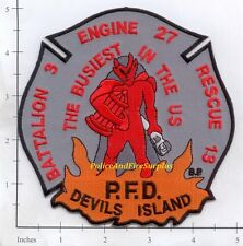 Pennsylvania - Philadelphia Engine 27 PA Fire Dept Patch  Devil's Island