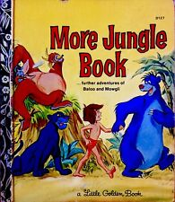 DISNEY'S MORE JUNGLE BOOK Rare 1970's Children's Little Golden Book SYDNEY Ed