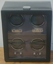 Any Size Automatic Keep Them Running ! Wolf Heritage 4 Piece Quad Watch Winder