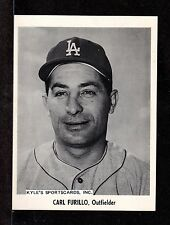 1958  Carl Furillo LA DODGERS UNSIGNED 5-1/8 x 7  B&W TEAM PICTURE PACK PHOTO #6