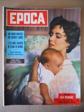 EPOCA n°166 1953 Liz Taylor - Grande inchiesta sui banditi sardi   [G774]