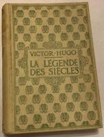 La Legends Des Siecles Victor Hugo Play Theatre France French Vintage Hardcover