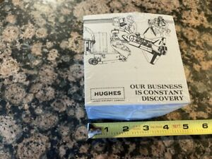 HUGHES Aircraft Company  Vintage Note Pad Cube Sealed Space Shuttle Maverick NOS