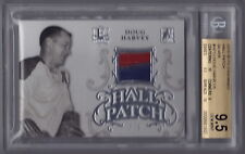 2015-16 ITG Enshrined Doug Harvey Silver Hall Patch (5/5) BGS 9.5 - POP 1