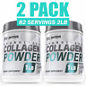 ▶ 2 Pack Collagen Peptides Hydrolyzed  Anti-Aging Grass Fed Protein Powder 2lb ▶