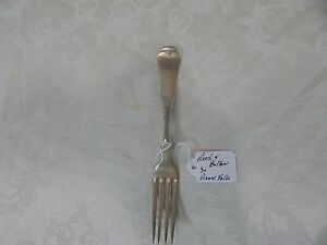 Reed & Barton Dinner Fork Pattern:Fiddle Circa:1900s.