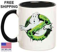 Ghost...., Birthday, Halloween, Christmas Gift, Black  Mug 11 oz, Coffee/Tea